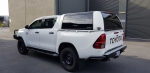 Toyota Hilux Workstyle Canopy