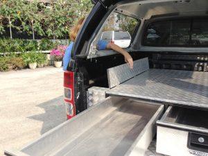 Aluminium-leisure-twin-drawer