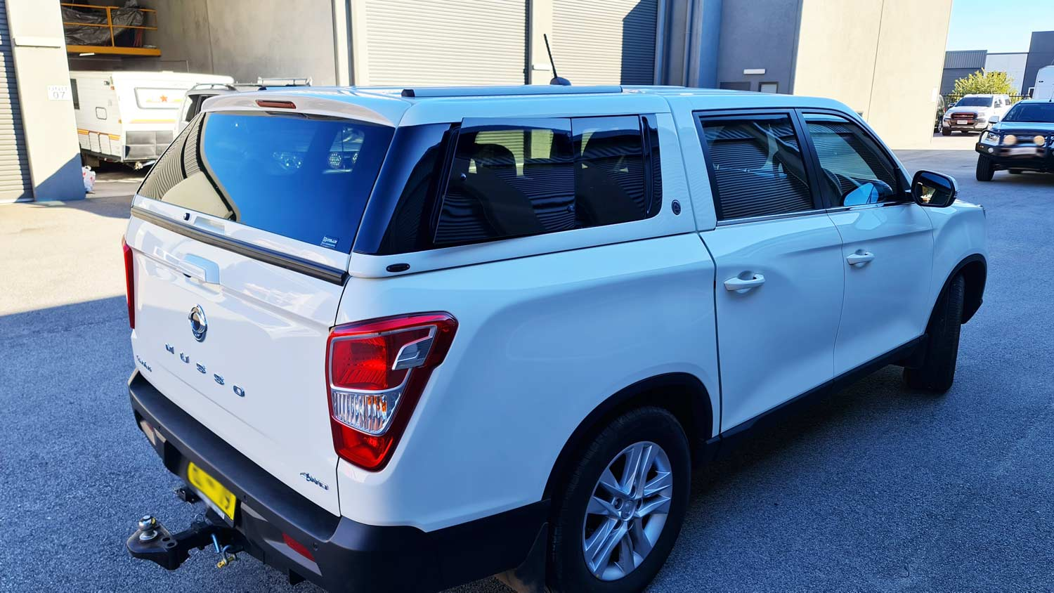 Elysium Canopy on SsangYong Musso -Short Tub- 2018