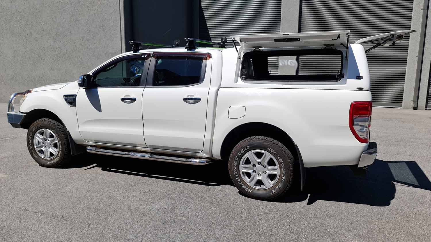 Force Pro Canopy on Ford Ranger 2016 - delux 4x4