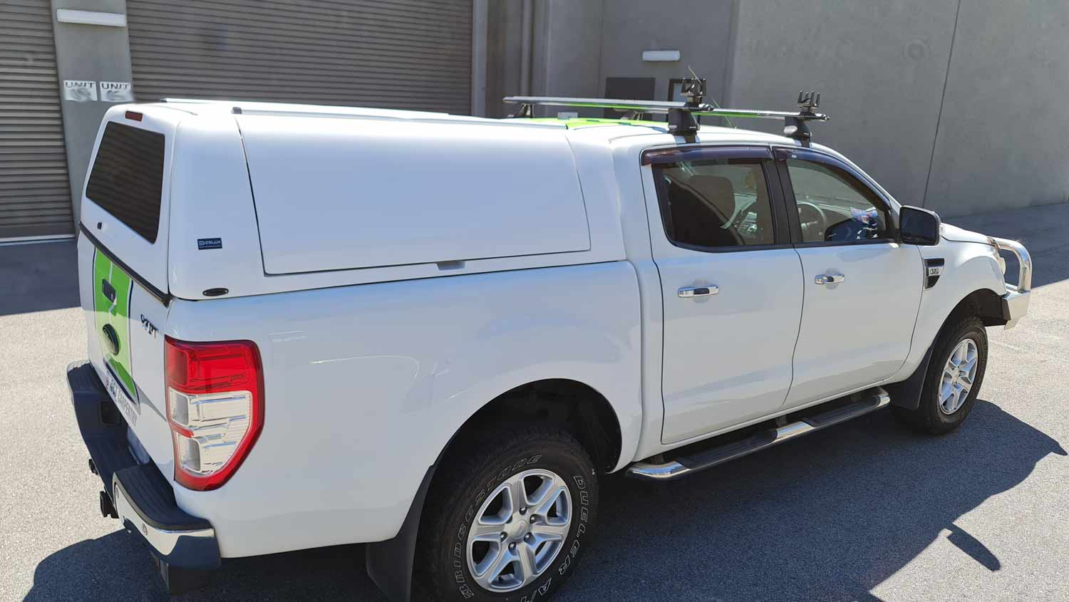 Force Pro Canopy on Ford Ranger 2016 - delux 3x4 - image 3