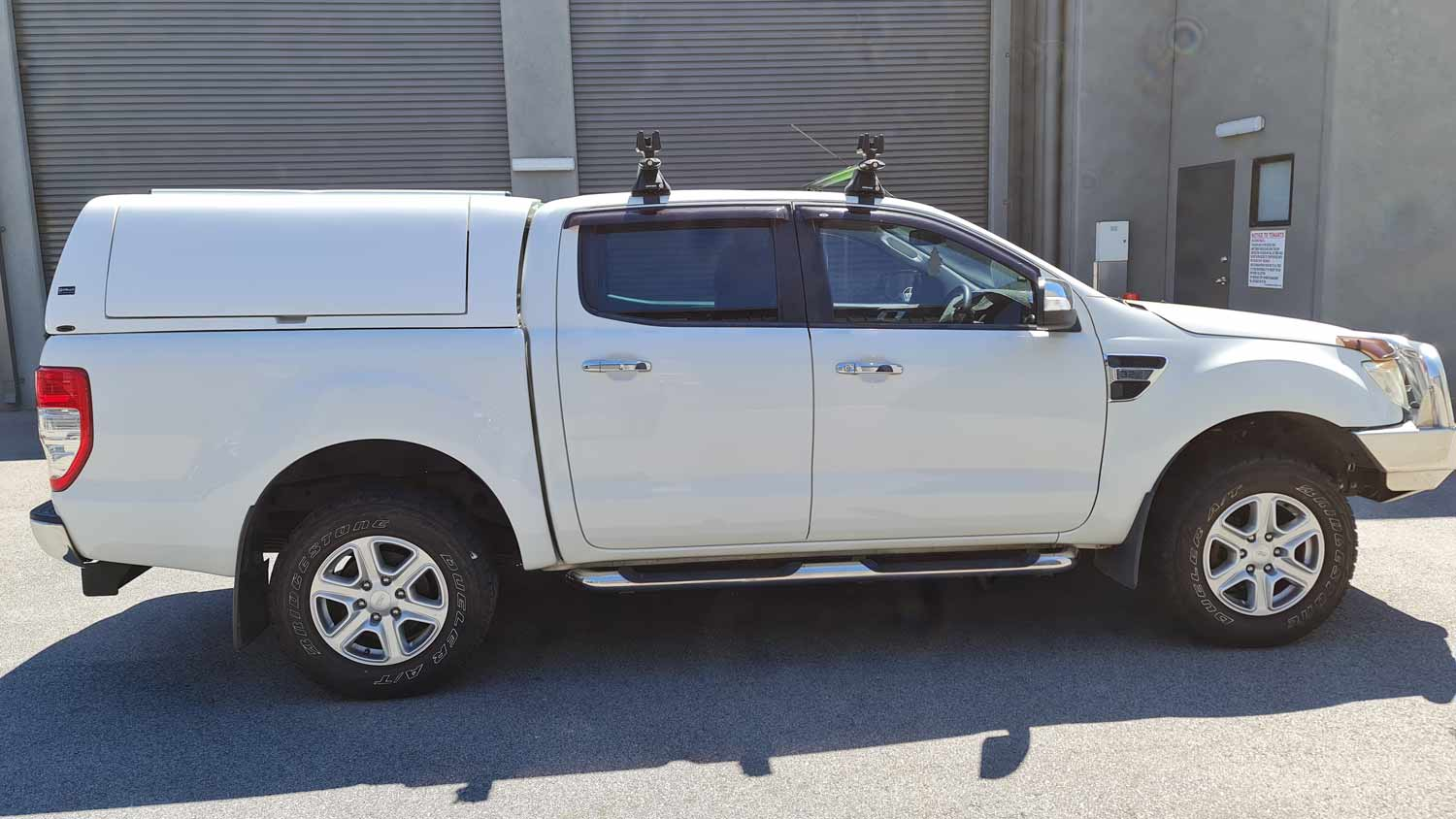 Force Pro Canopy on Ford Ranger 2016 - delux 3x4 - image 4