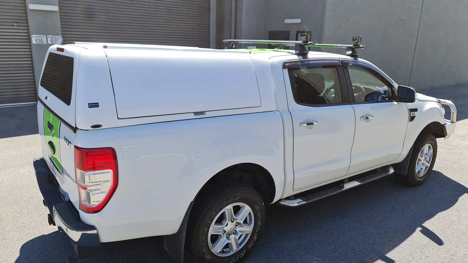 Force Pro Canopy on Ford Ranger 2016 - side view