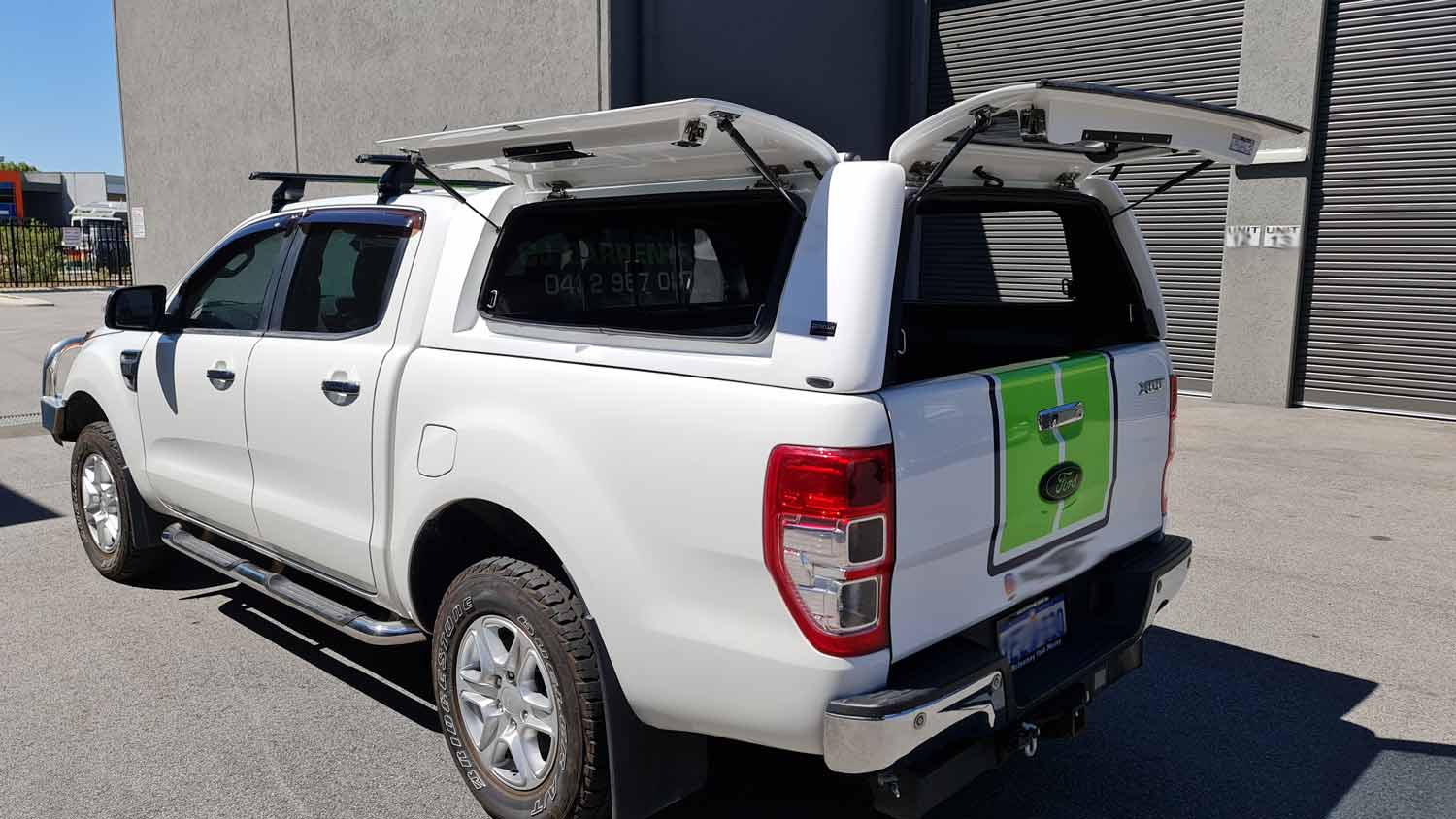 Force Pro Canopy on Ford Ranger 2016