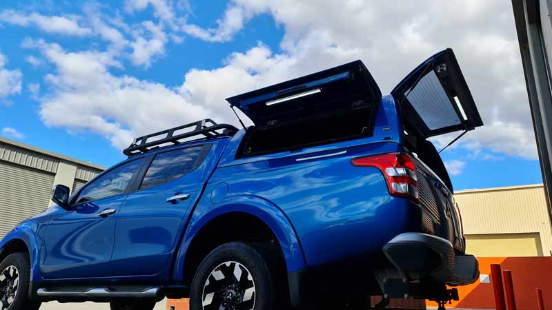 Force Pro Plus Canopy from Delux 4x4 Accessories in Perth
