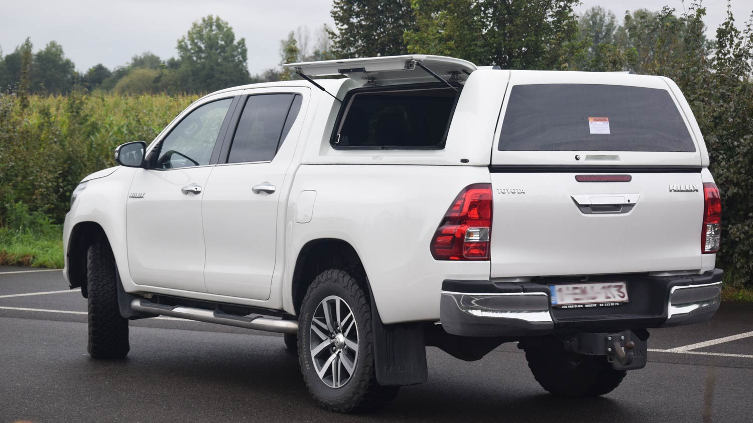 Force Pro Plus Canopy on Toyota Hilux 2016
