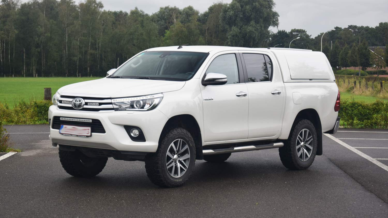 Force Pro Plus Canopy on Toyota Hilux 2016 - Image 2