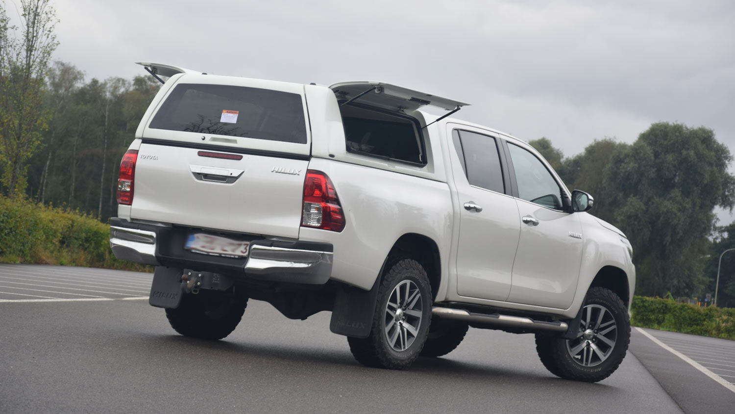 Force Pro Plus Canopy on Toyota Hilux 2016 - Image 3