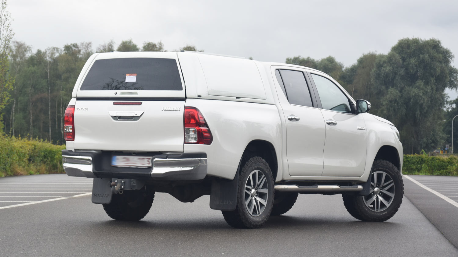 Force Pro Plus Canopy on Toyota Hilux 2016 - Image 4