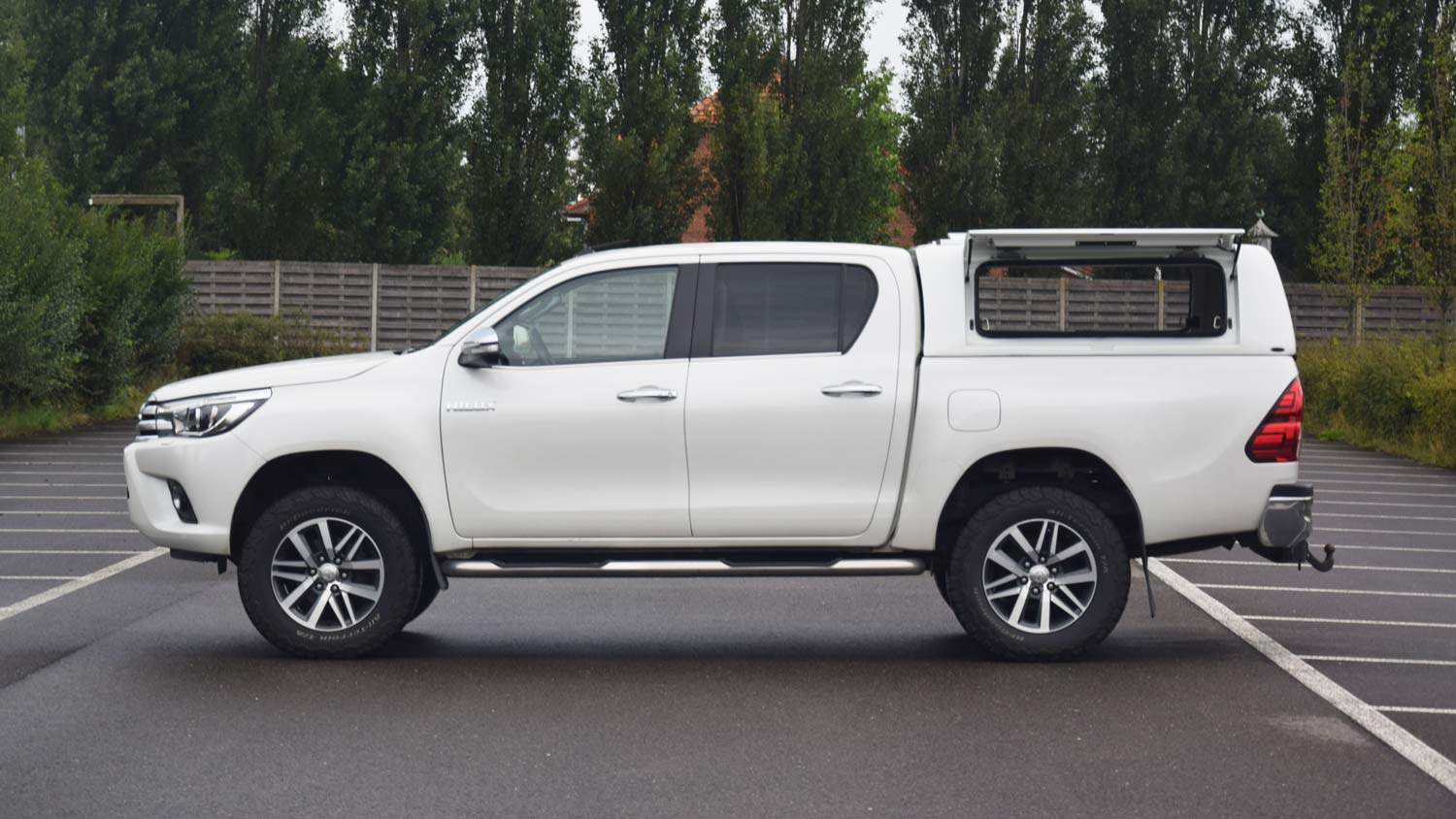 Force Pro Plus Canopy on Toyota Hilux 2016 - Image 5